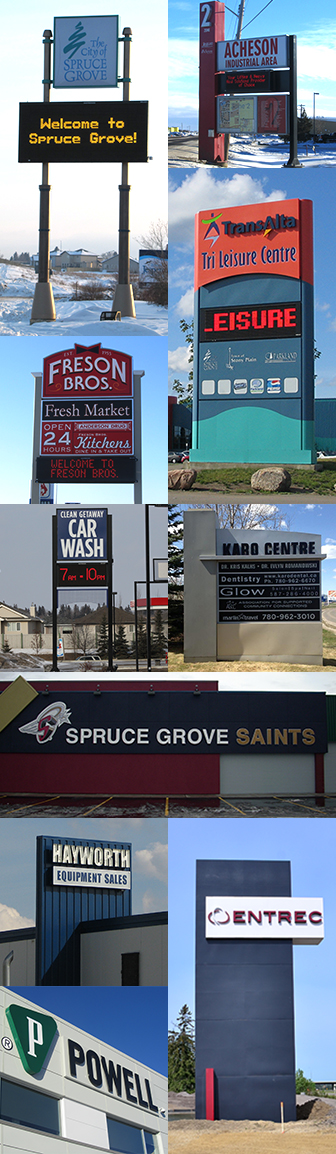Spruce Grove Collage