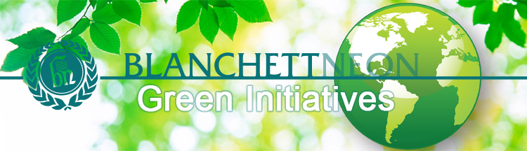 Signage Green Initiatives