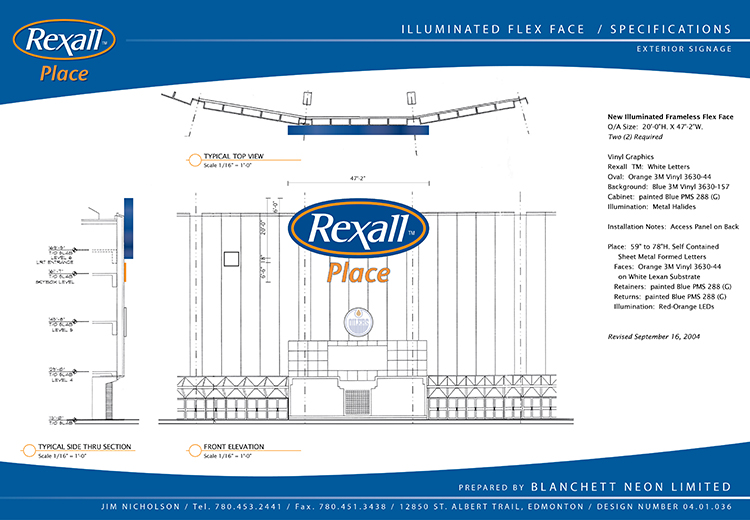 Rexall FlexFace Production